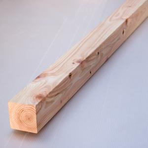 桧角材 6cmx6cmx1m=990mm (4本組)(木材 角材)DIY 木材 天然木 桧 ひのき 無塗装 国産|beniyamokuzaicom