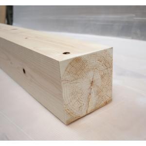 桧角材12cmx12cmx91cm(木材 角材)DIY木材 天然木 桧 ひのき 節少なめ 無塗装 |beniyamokuzaicom