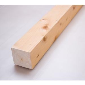 桧角材 7.5cmx7.5cmx185cm(木材 角材) 約185cmx7.5cmx7.5cm DIY木材 天然木 桧 ひのき 節少なめ 無塗装 |beniyamokuzaicom