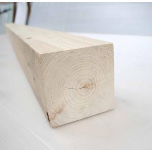 桧角材 9cmx9cmx185cm(木材 角材)DIY木材 天然木 桧 ひのき 節少なめ 無塗装 |beniyamokuzaicom
