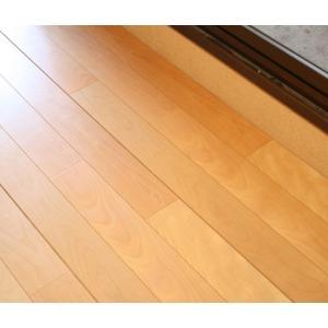 天然木フローリング バーチWOODTECHTP40049J 1818mmx303mmx12mm 6枚入 天然突板を耐摩耗塗装|beniyamokuzaicom