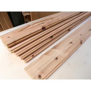 吉野杉 巾広厚み3cmのフローリング床材(無塗装)2mx13.8cmx3cm 6枚入(約1.65平米分)天然の国産無垢の杉を贅沢に使った床材|beniyamokuzaicom
