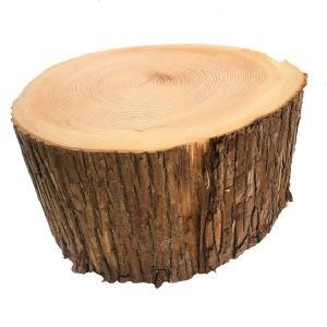 杉切り株 高さ20cm 直径約35cm 安心の国産材です。お部屋に自然の安らぎを。 ディスプレイ|beniyamokuzaicom