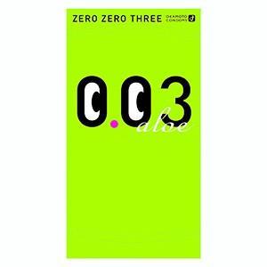 オカモト 003(ゼロゼロスリー)アロエ 4個入