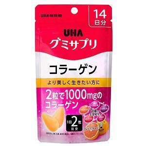 UHA味覚糖 グミサプリ コラーゲン 14日分 28粒