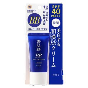 雪肌精 ホワイト BBクリーム 30g (02 普通の明るさの自然な肌色)