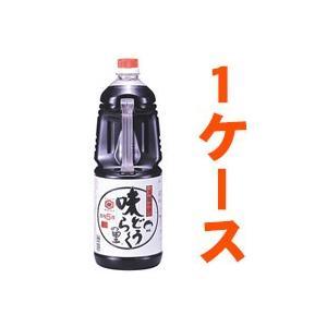 送料無料 1ケース 味どうらくの里 東北醤油 1.8L×6本入 あすつく対応