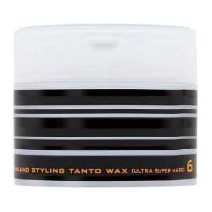 【特徴】  「ナカノ スタイリング タントN ワックス6 ウルトラスーパーハード 90g」は、ハード...