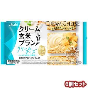 バランスアップ クリーム玄米ブラン クリームチーズ (2枚×2袋)×6個セット...