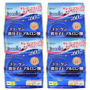 イトコラ コラーゲン低分子ヒアルロン酸 306g×4個セット...