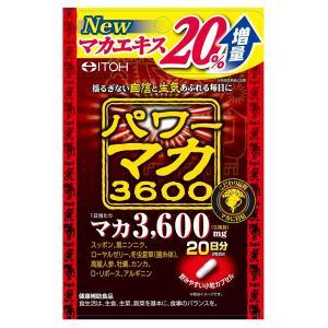 井藤漢方 パワーマカ3600 40粒 メール便送料無料 くすりの勉強堂