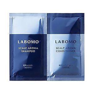 LABOMO(ラボモ) スカルプアロマ トライアルセット [BLUE]シャンプー&コンディショナー アートネイチャー 医薬部外品
