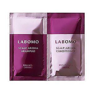 LABOMO(ラボモ) スカルプアロマトライアルセット [RED]シャンプー&コンディショナー アートネイチャー 医薬部外品