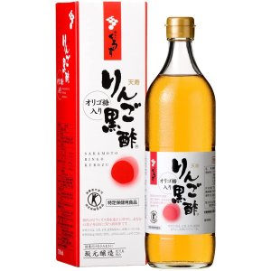 天寿りんご黒酢 700ml (黒酢)|benkyoudou