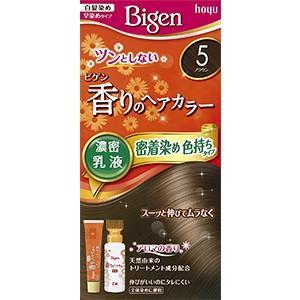 ビゲン香りのヘアカラー乳液 5(ブラウン)