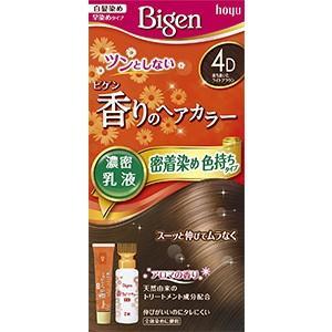 ビゲン香りのヘアカラー乳液 (カラー:4D 落ち着いたライトブラウン)