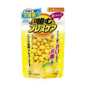 特徴噛むと清涼感が広がり、その清涼感がお口とおなかから息リフレッシュする清涼食品  レモンミント10...