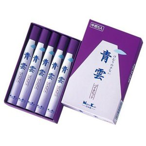 日本香堂 青雲バイオレット 中把5入 メール便送料無料|くすりの勉強堂