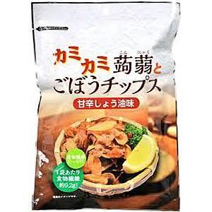 カミカミ蒟蒻&ごぼうチップス 70g