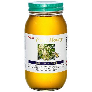 特徴  透明感があり、さっぱりとした上品な風味が特長です。  アカシア蜂蜜は『蜂蜜の女王』とも言われ...