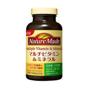 ネイチャーメイド マルチビタミン&ミネラル ファミリーサイズ (200粒入/100日分)