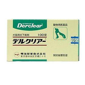動物用医薬品 犬猫用 デルクリアー錠 100錠 あすつく対応