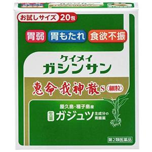 【第2類医薬品】  恵命我神散S(ガジュツ) 細粒 20包