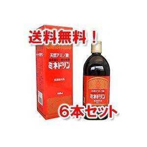 伊丹製薬 ミネドリン 600ml×6本セット 医薬部外品 あすつく対応|benkyoudou