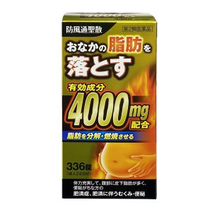 【第2類医薬品】 防風通聖散料エキス錠 「創至聖」 336錠×3個セット 北日本製薬 あすつく対応