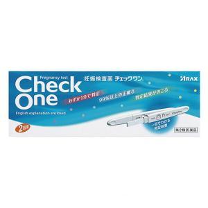 【第2類医薬品】 チェックワン 2回用×6個セット  送料無料