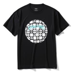バスケット ウェア Tシャツ スポルディング 市松 ボール SMT200300 バスケ 練習着 メン...
