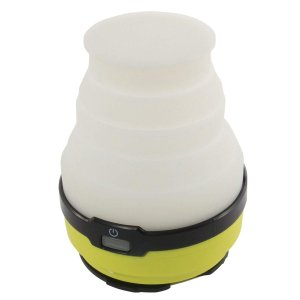 DOD(ディーオーディー) LED ソーラー ポップアップ ランタン USB充電(電池別売り) 連続...