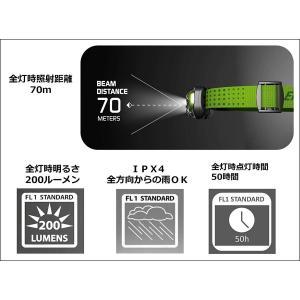 エナジャイザー LED ヘッドライト (明るさ最大200ルーメン/点灯時間最大50時間) HDL2005GR|benriithiban