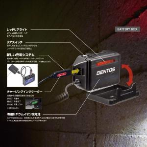 GENTOS(ジェントス) LED ヘッドライト 充電式 明るさ500ルーメン/実用点灯12時間/耐塵/耐水 GH-003RG ANSI規格|benriithiban