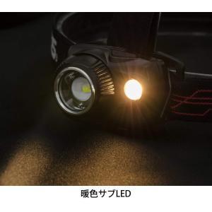 GENTOS(ジェントス) LED ヘッドライト USB充電式 明るさ550ルーメン/実用点灯2時間/防滴 WS-100H ANSI規格準拠|benriithiban