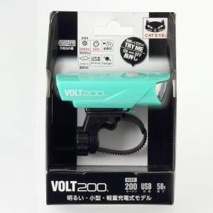 キャットアイ(CAT EYE) LEDヘッドライト VOLT200 HL-EL151RC USB充電...