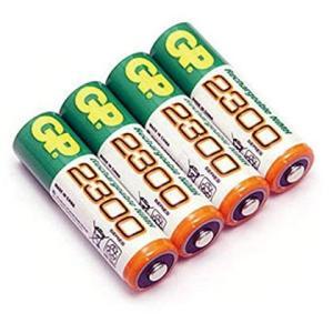 キャットアイ(CAT EYE) ニッケル水素充電池 Ni-MH 2.2Ah GP220AAH 4本セ...