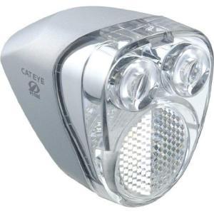 キャットアイ(CAT EYE) LEDヘッドライト HL-HUB100 ハブダイナモ用 シルバー J...