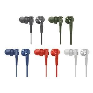 ソニー SONY イヤホン 重低音モデル MDR-XB55 : カナル型 ブルー MDR-XB55 L|benriithiban