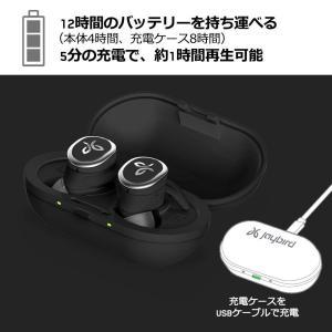 Jaybird RUN 完全ワイヤレスイヤホン Bluetooth/防水・防汗/スポーツ対応 ブラッ...
