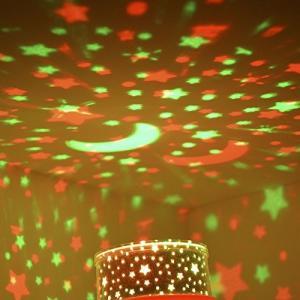 Doatry 投影ランタンアロマライト ランプシェード プロジェクターランタン 雰囲気ライト スポッ...