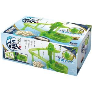 パルマート 流しそうめん器 透明極み グリーン W40×D27×H15cm 素麺 HAC1814 benriithiban