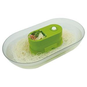 パルマート 流しそうめん器 涼美 グリーン W35×D20×H7.5cm 素麺 HAC1326 benriithiban