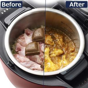 シャープヘルシオ(HEALSIO)ホットクック水なし自動調理鍋1.6LレッドKN-HT99A-R