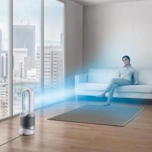 ダイソン空気清浄機能付ヒーターdysonPureHot+CoolLinkHP03WSホワイト/シルバ...