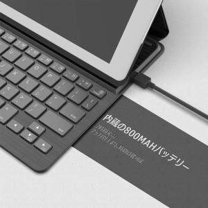 Inateckバックライト付きiPadキーボードカバー,iPad第6世代(2018)/第5世代(20...