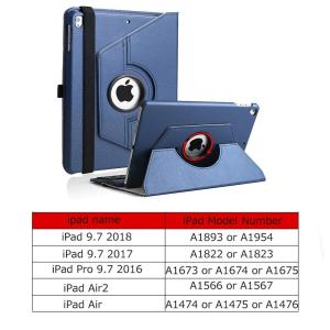 iPad9.7キーボードケース2018第6世代2017第5世代SENGBIRCH360度回転スタンド...