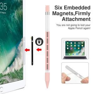 ApplePencil用グリップ-ATiCapplepencilケース(マグネット付き)握りやすい紛...