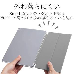 エレコム2017年新型iPadPro10.5シェルカバー純正スマートカバー対応クリアTB-A17PV...