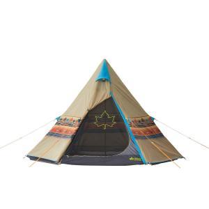 ロゴス(LOGOS) テント 2~3人用 LOGOS ナバホTepee 300 71806501 組...